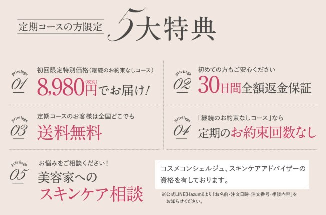 Hazumiキャンペーン